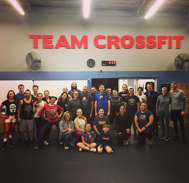 Happy Holidays from our fam to yours!! #holidayparty #partnerwod #teamcrossfit #lyfe #fitfam #weworkhard #playevenharder #happyholidays #10years #stillgoingstrong