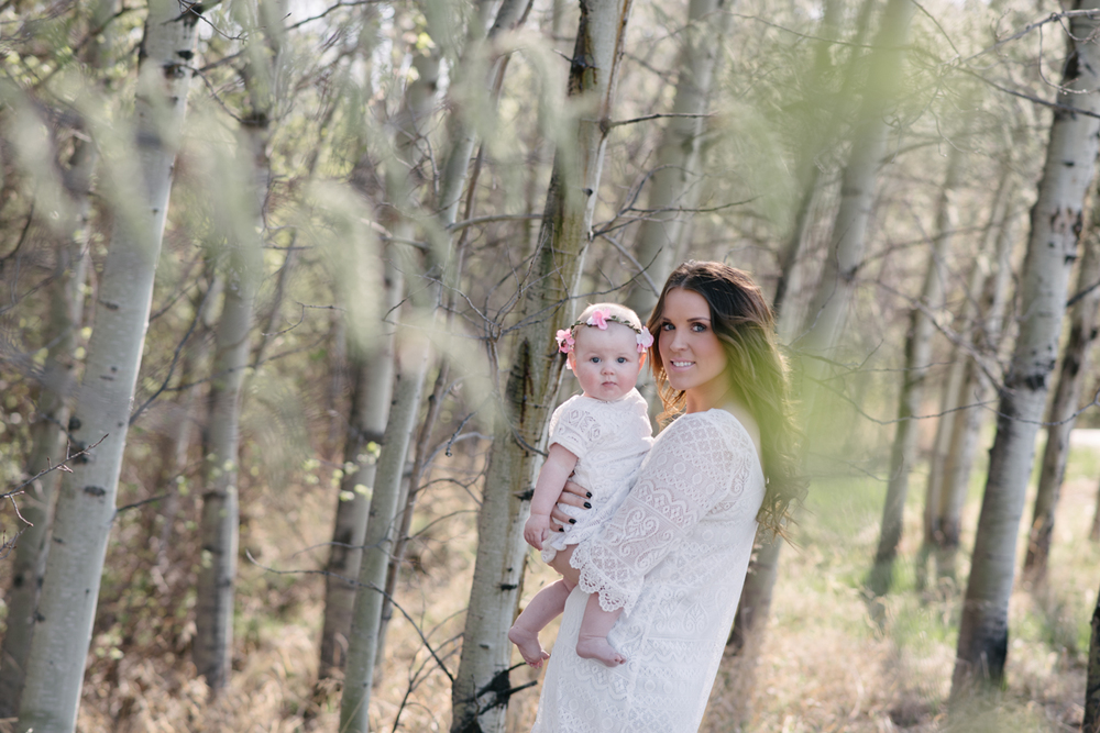 Mother and Daughter Photography, Nature, St. Albert Family Photographer
