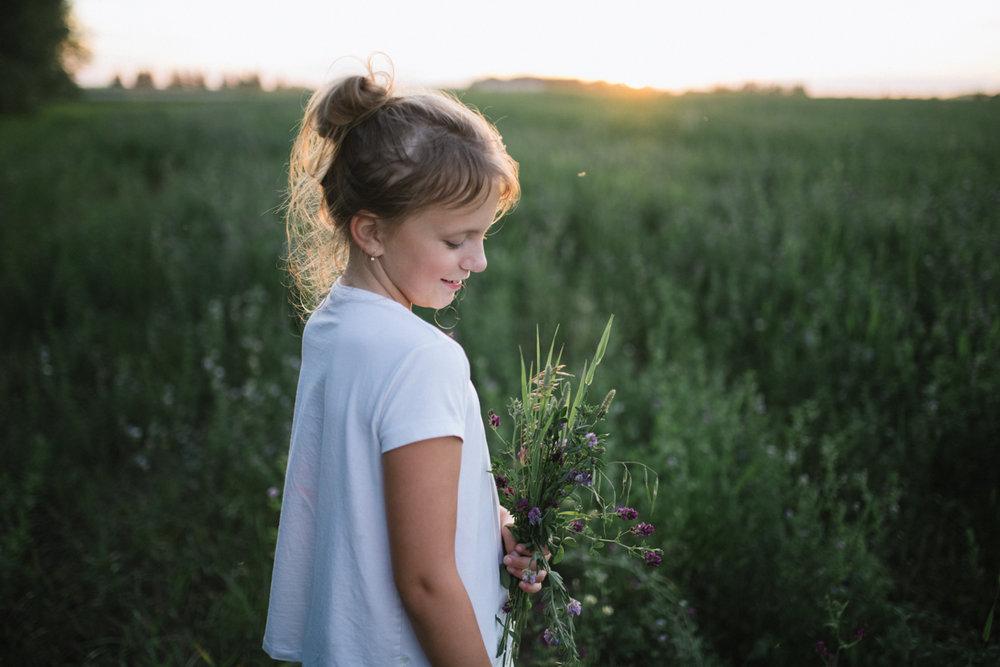 Jessica Leanne Photography, Children Photographer, Summer sunset