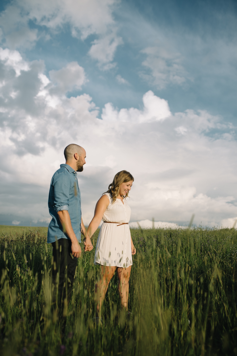 St. Albert fields, Engagement Photography Session, Lois Hole Park