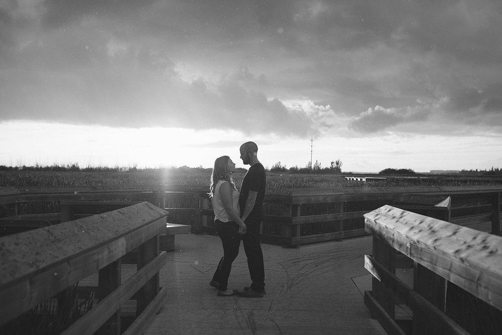 Lois Hole Park, Raining during a engagement session
