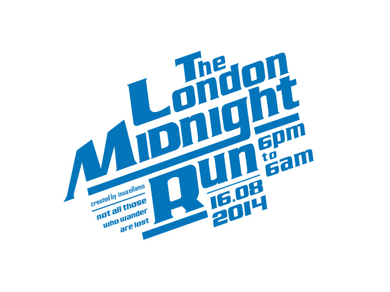 The next midnight run! 8 days and counting…