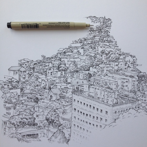 Exploration by pencil…
