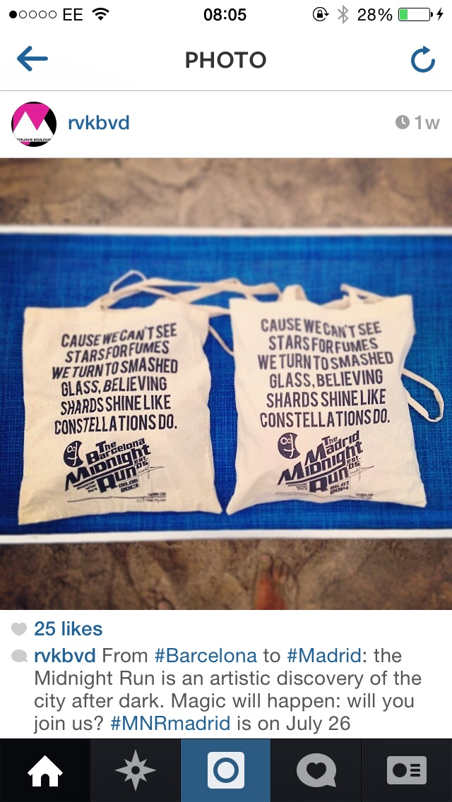 Ahead of the event in Madrid, the guys from www.cct-seecity.com/en have designed and printed these bags.