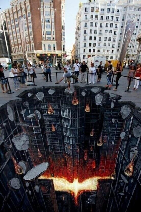 chemicallyconcentrated: Street art in Madrid. Wow!