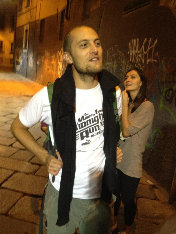 Italy, Milan Midnight Run