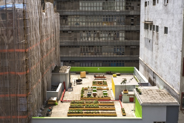 thisbigcity :     Last week we shared some great urban farming projects from  New York , and this week,  Berlin and Hong Kong  are our focus. Do you engage in a bit of urban agriculture?     Poetry is to language what Gardens are to cities.