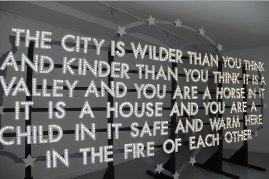 nec-plus-ultra: Robert Montgomery's website The city is wilder than you think and kinder than you think. It is a valley and you are a horse in it, it is a house and you are a child in it, safe and warm here in the fire of each other. #thecity
