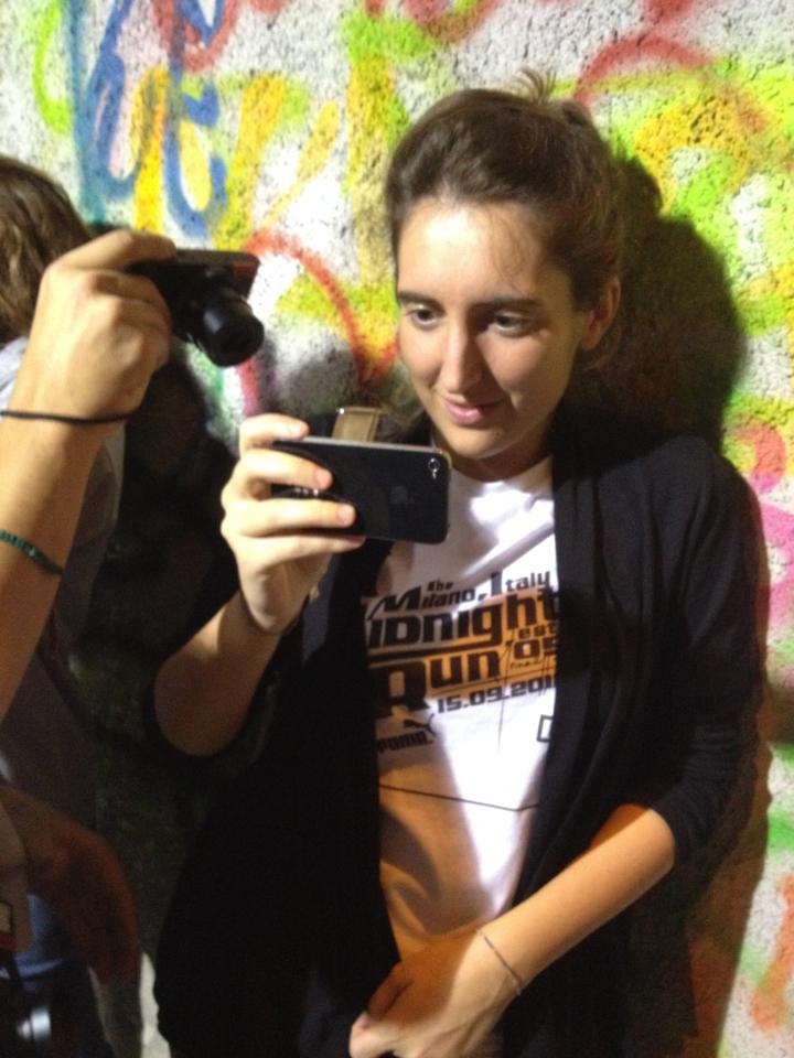 Elena Mazzoni. Mastermind! #milan #midnightrun