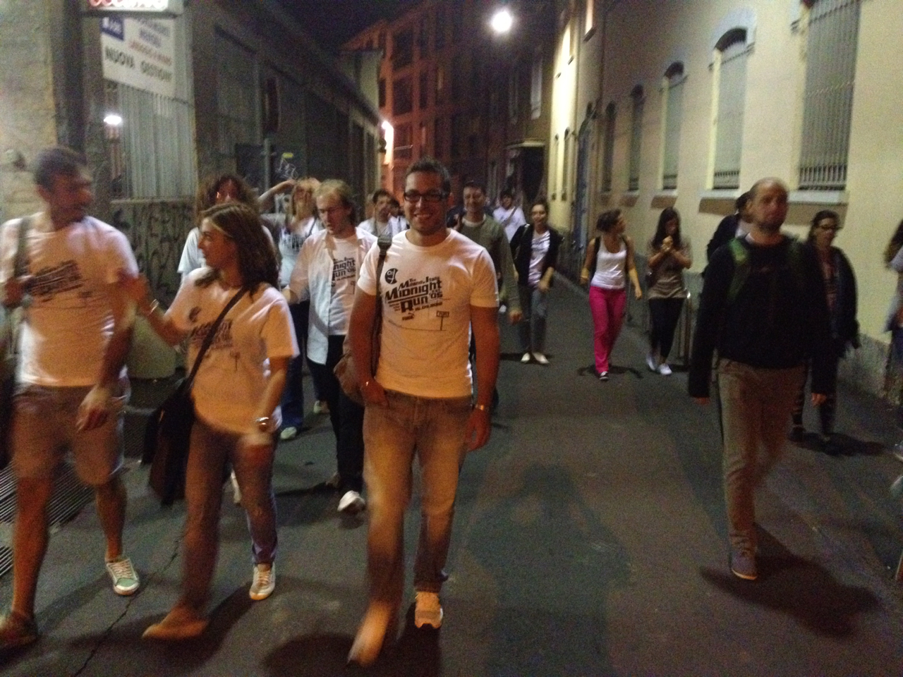 The Runners! #MidnightRun #Milan