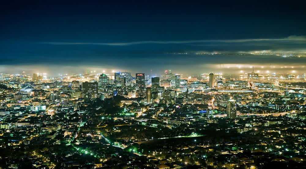 Check out these shots of South Africa at night…