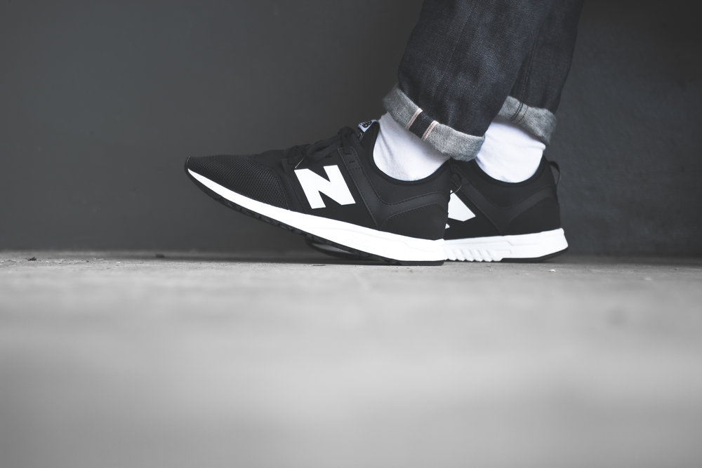 new balance 247 classic on feet