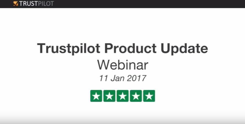 Trustpilot - Trustpilot Product Update