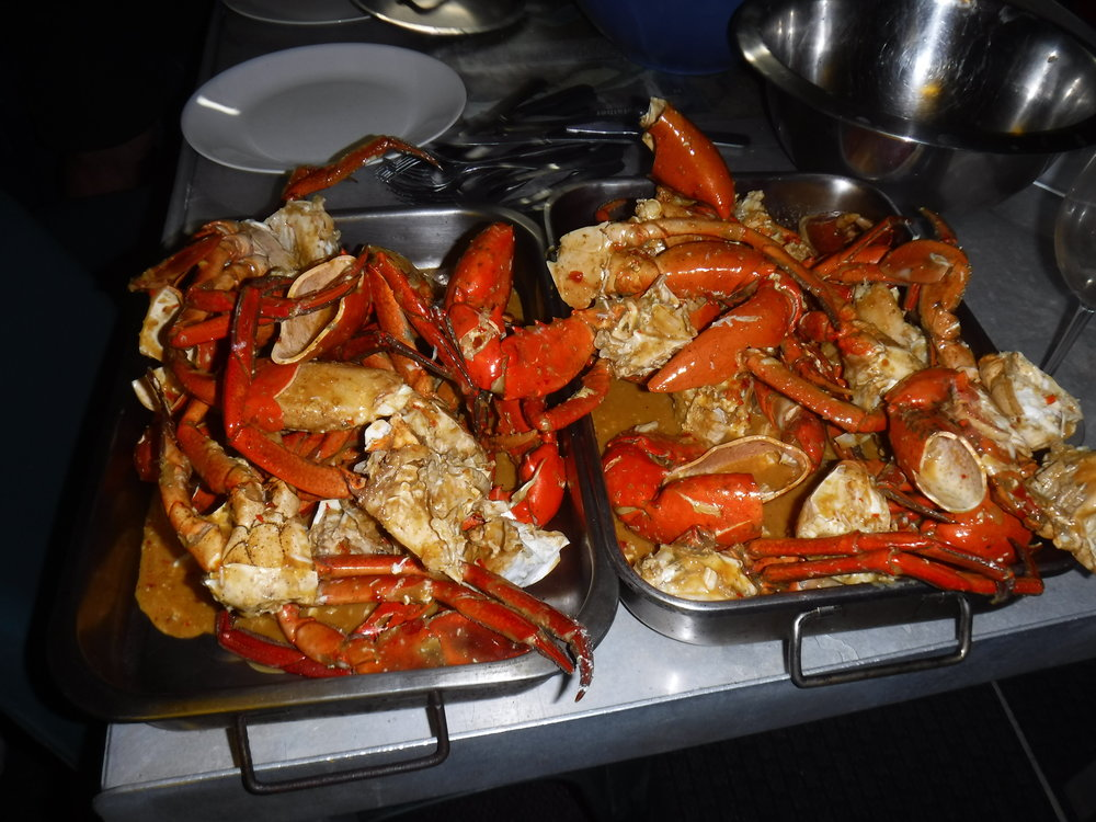 Chili Crab...drop me a line for the recipe