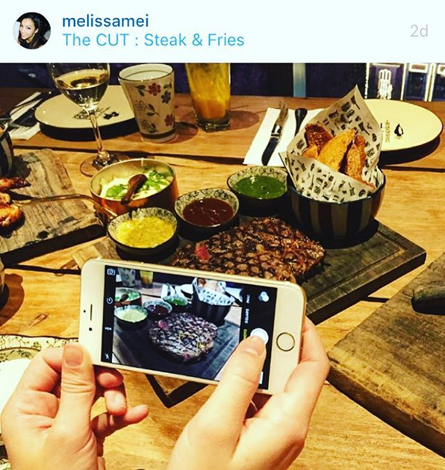 Repost from @melissamei the author of The Pursuit of Snackiness. Hello Steak, hello Blogger! Follow her on Shanghai Bloggers App🙋