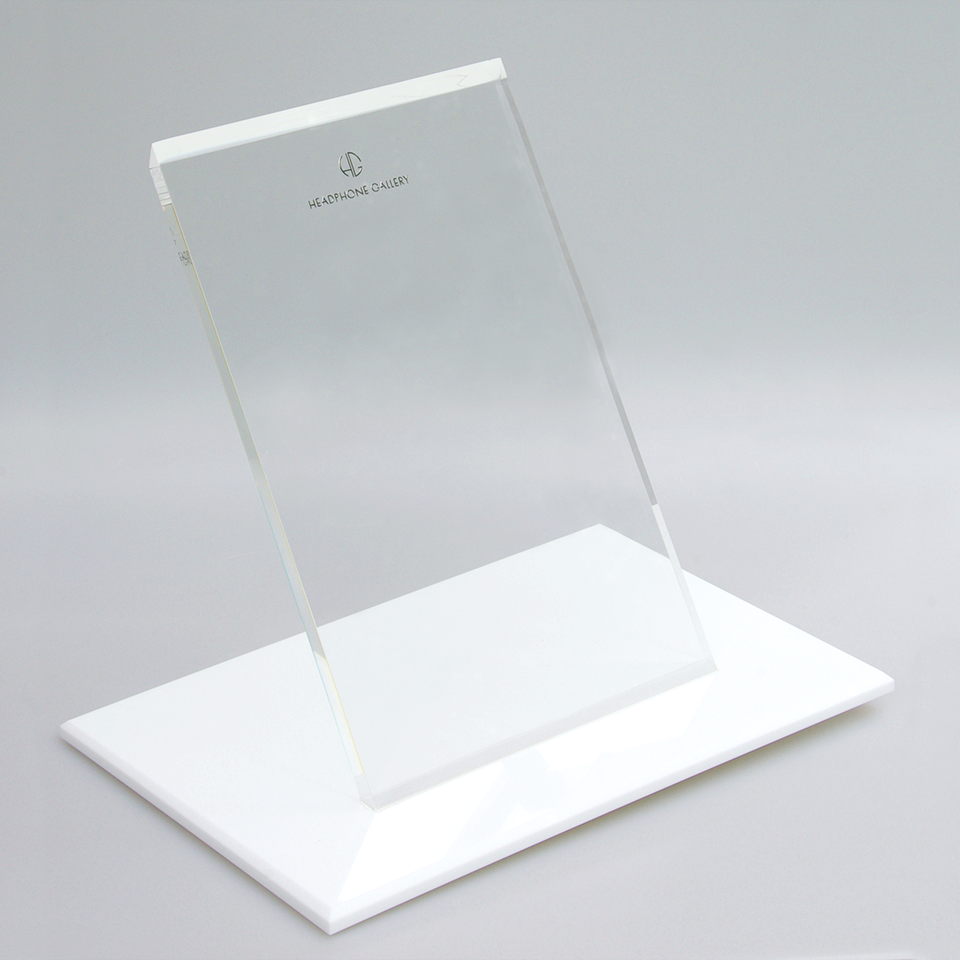 Headphone Gallery Stand White
