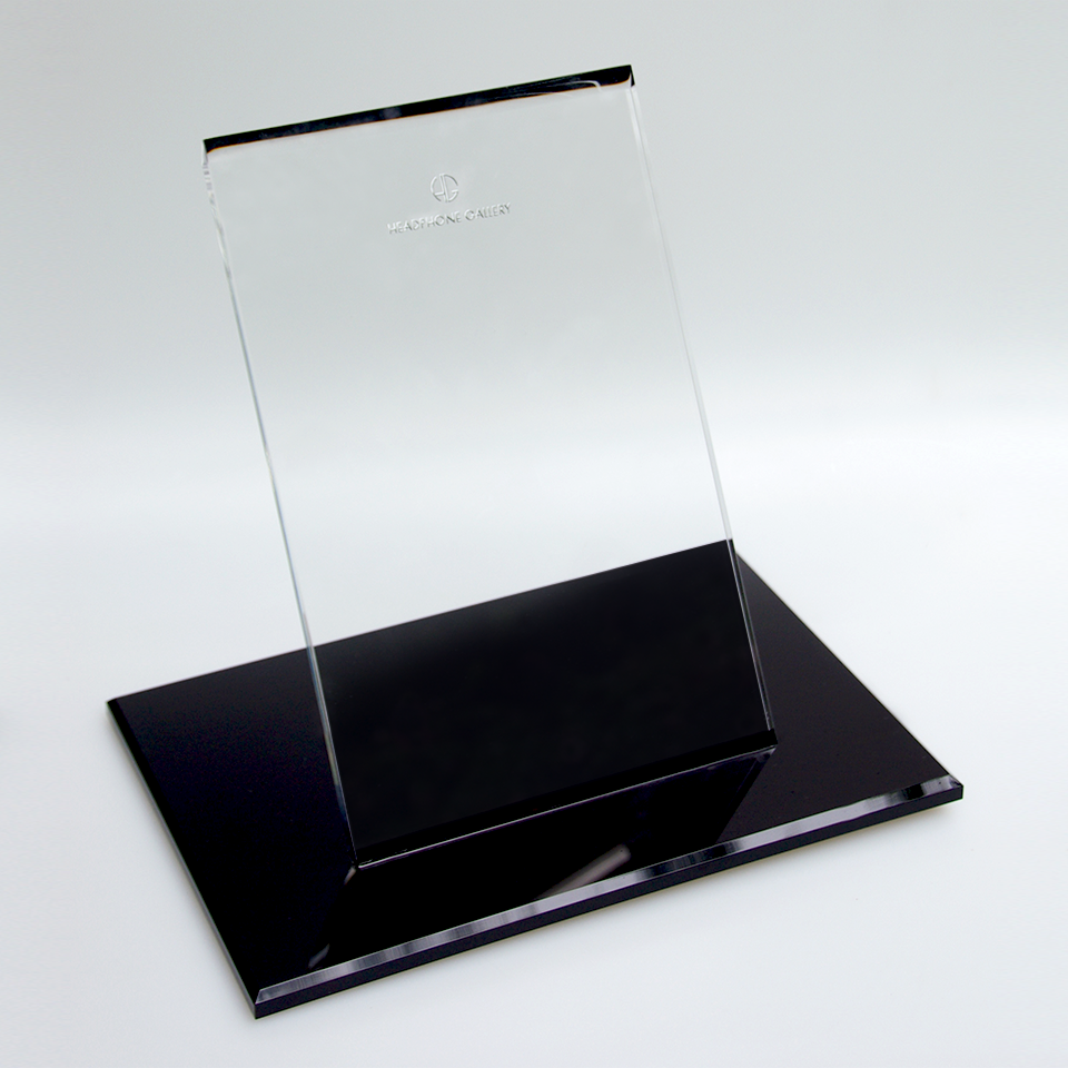 Headphone Gallery Stand Black