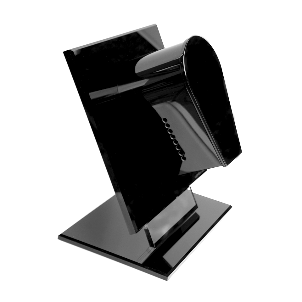 Headphone Gallery and Stand Black