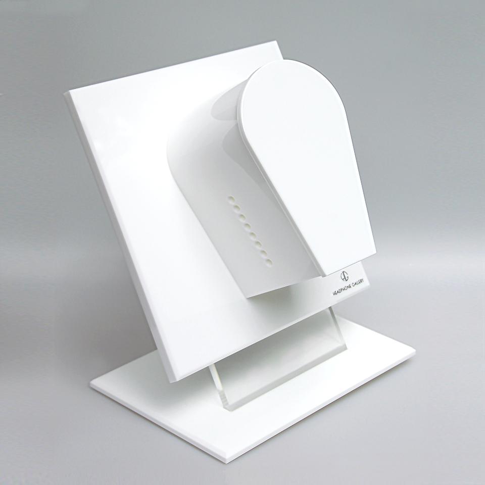 Headphone Gallery und Standfuß Weiß
