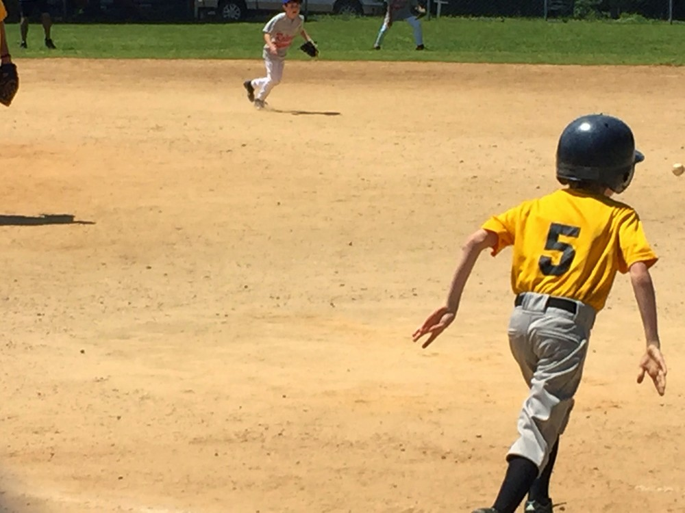 Little League Baseball Game at Method Park