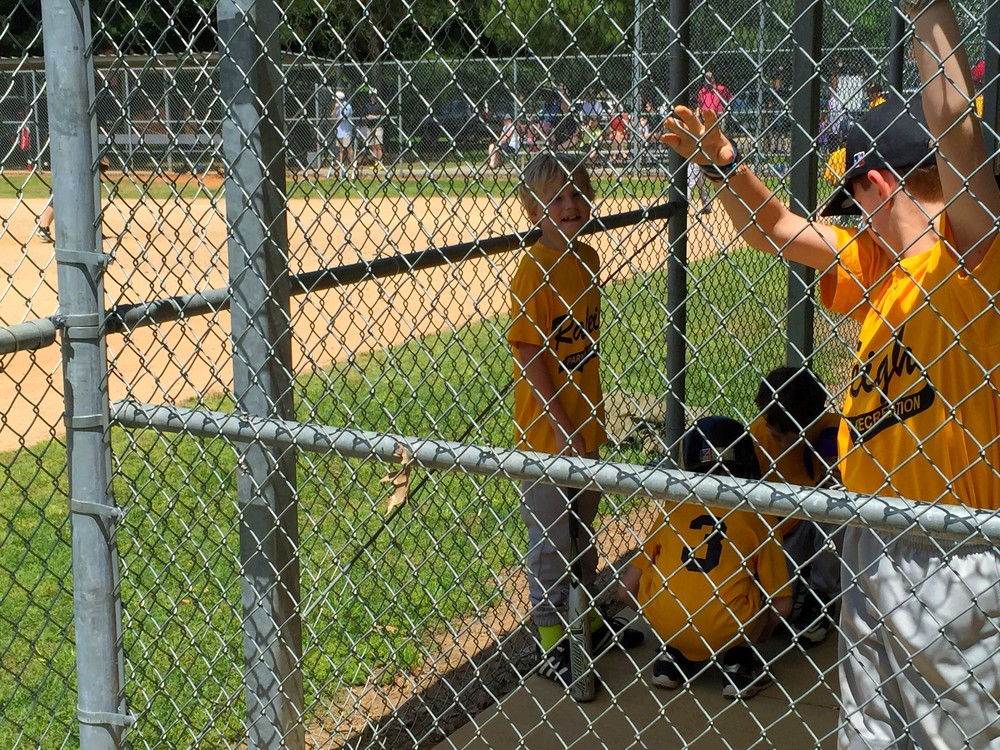 Little League Baseball Game Method Park