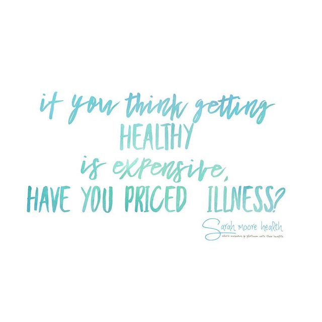It's really what you value as important.  You choose that.  For me, new shirt or bottle of Reishi, shopping at Whole Foods or having a nicer car.  For some it's not a choice they can have it all.  One thing i am not spending money on (rarely ever) is corrective health.  Preventative allows this and it is an investment.  Make little steps each day to think of your internal body first.  You will get there. ❤️