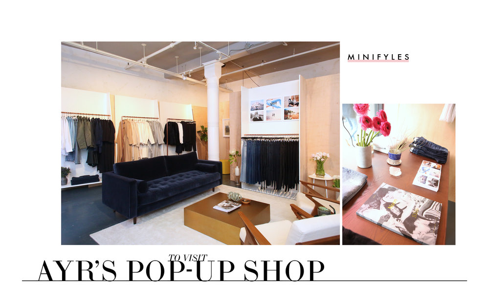 AYR Pop-Up Shop