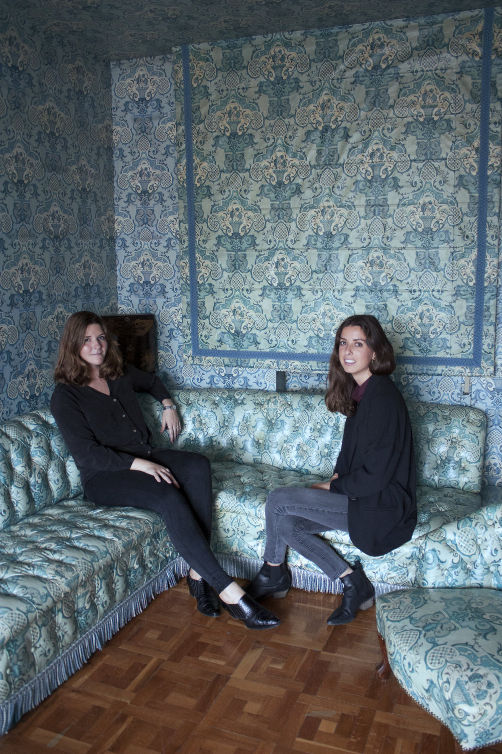 Designers Paloma Canut and Ana Marroquín.