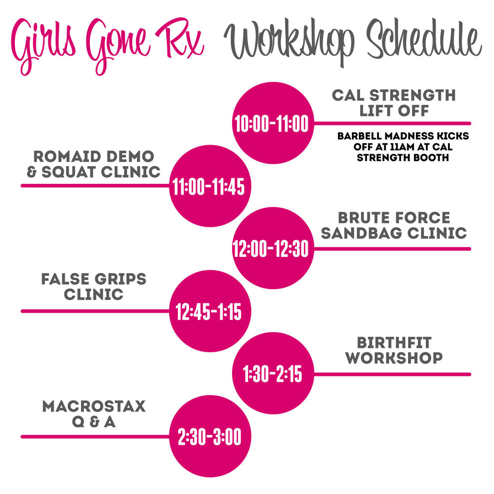- Get your spectator tickets for next weekend's Girls Gone Rx event at Elitch Gardens.~ Cheer on your athletes~ Ride the rides and experience Elitch Gardens~Check out all the workshops~Spectator Challenges including Barbell Madness~Live Shirt Printing by Indy Ink~Tons of Vendorsand more!!