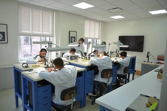 Patek Philippe    New students learning how to repair watches at the Patek Philippe Horology Programme of New York.
