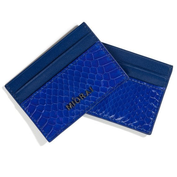 New wallet collection, real snakeskin. Check our site for other colors  #miorai #wallets #snakeskin