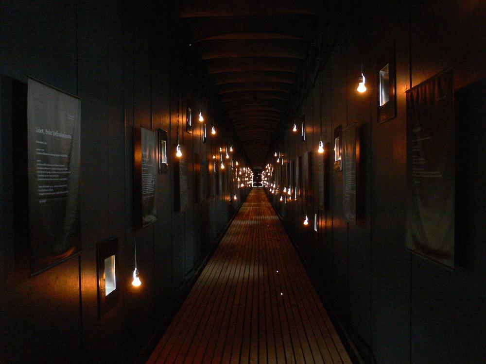 Photo: Peter Zumthor's Steilneset Memorial in Vardo,Susana Ventura, July 2014