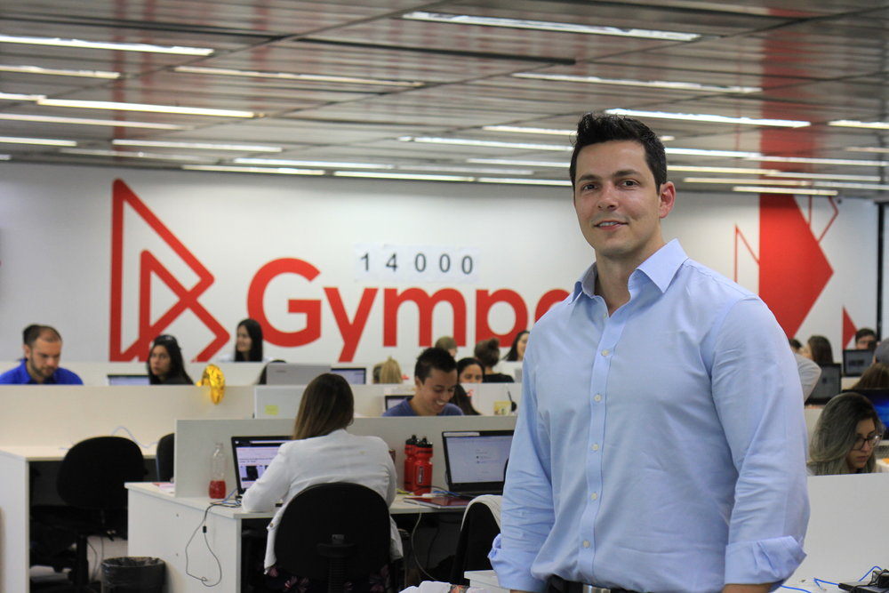 Pictured above: Leandro Caldeira, GymPass Country Manager - Brasil