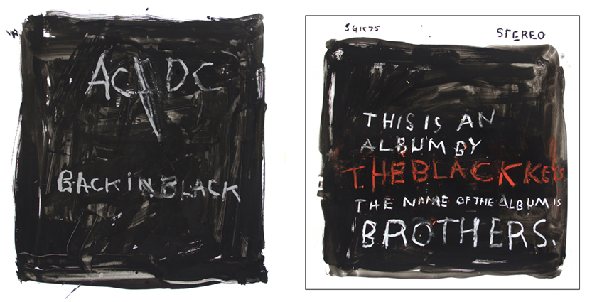 Left: Off the Record AC/DC    Right: Off the Record The Black Keys