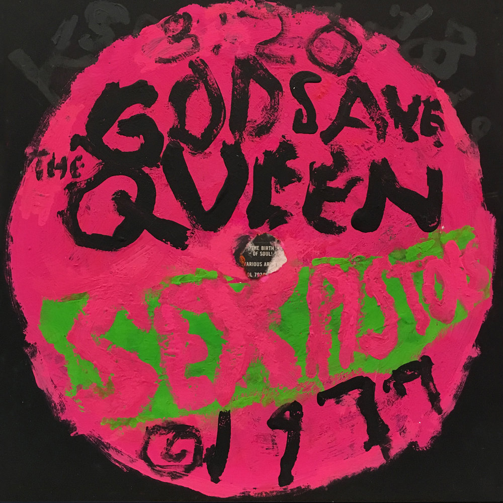 Sex Pistols / God dave the Queen #3