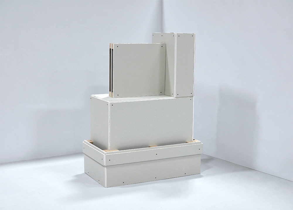 "Window and Base, Eisenhower Executive Office Building , 42"" x 56"" x 23"""