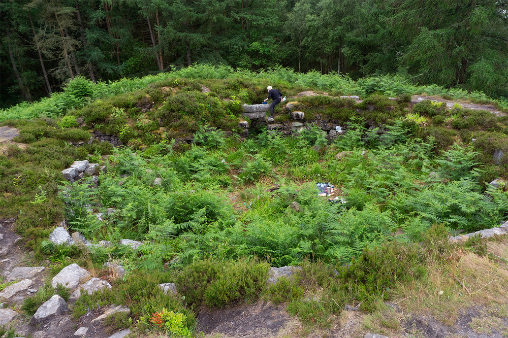 Tappoch Broch (Scotland, UK)