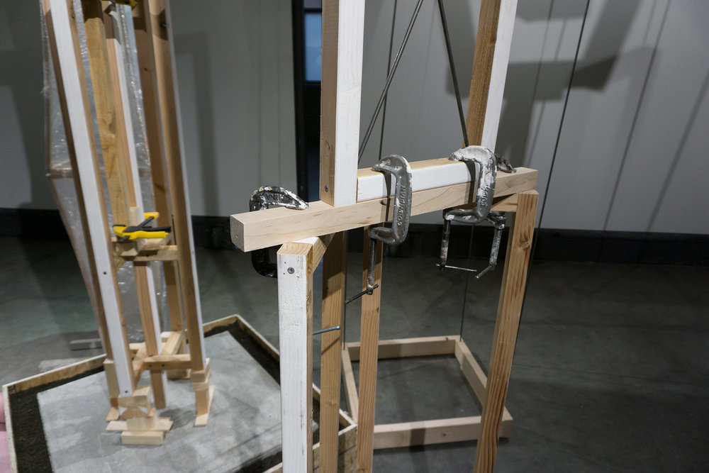 2x2s with clamps