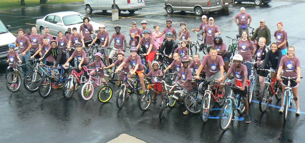Our staff and young people were blessed by all who came to help out and to ride in the event.