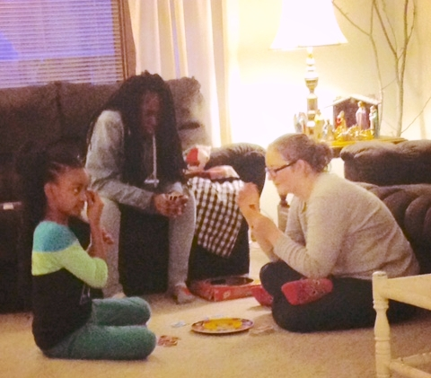 Our Elkhart family LOVES to play games together.
