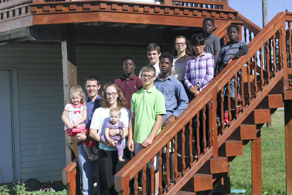 Bosquez Family in St. Louis, Michigan