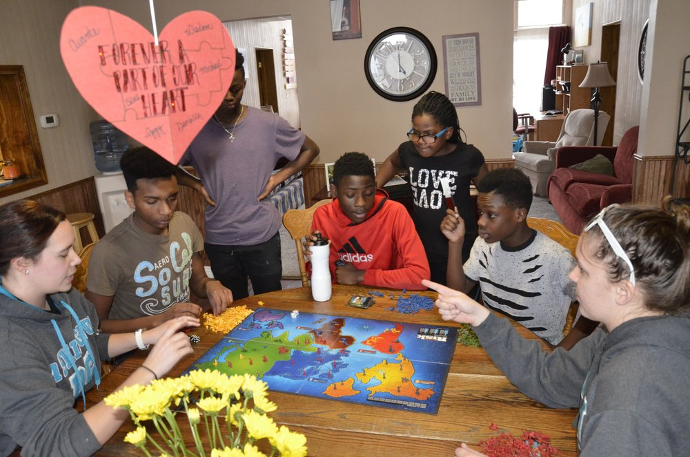 It is crucial that the children in our care have a safe, comfortable place to experience family sharing and bonding times, and know they belong.