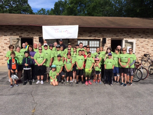 Ohio Bike-a-Thon riders - 2017