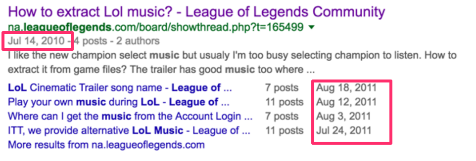 League Of Legends fans' have been searching for the game's music since 2010.