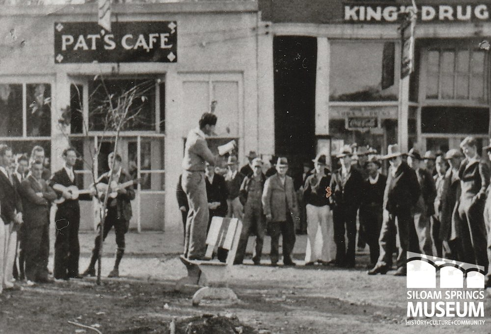 Band in front of Pat's Cafe.jpg
