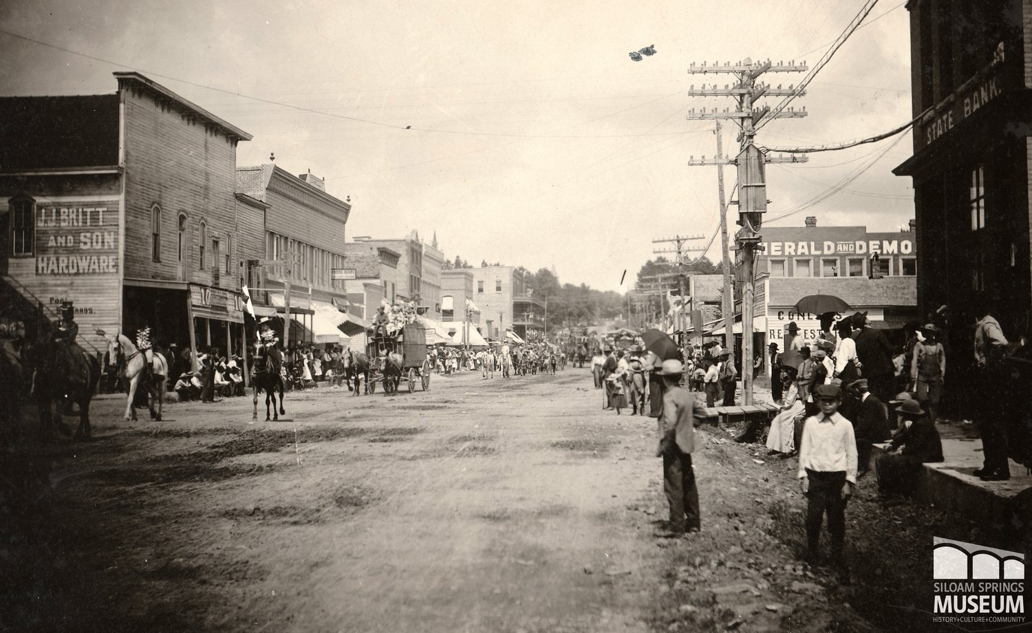 Parades And Celebrations In Siloam Springs Siloam Springs Museum