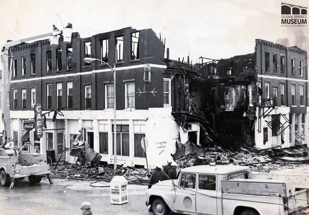 Mac sold his business shortly after the Youree Hotel fire in 1970.