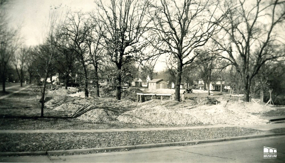 Construction on Siloam Springs Memorial Hospital was finished in 1950.
