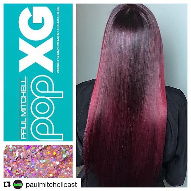 When your salon is featured by @paulmitchelleast!  We are doing what we love to do at A. Marcelite Salon!