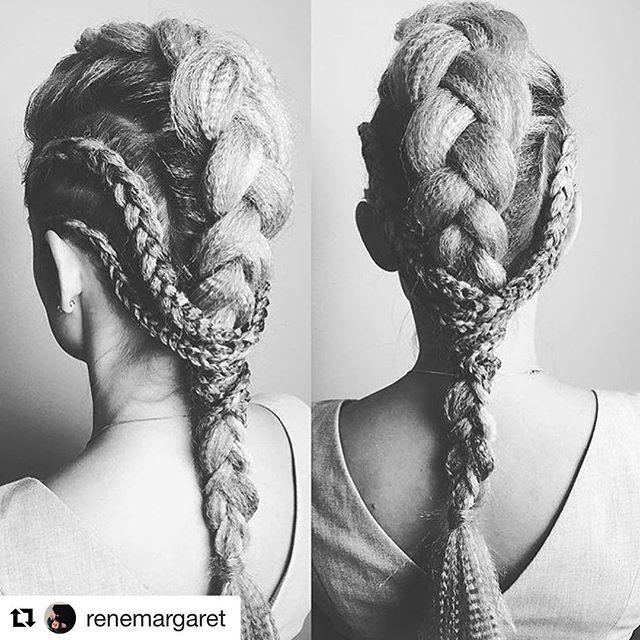 #Repost @renemargaret with @repostapp ・・・ @amarcelitesalon #amarcelitesalon #updo #braids @renemargaret
